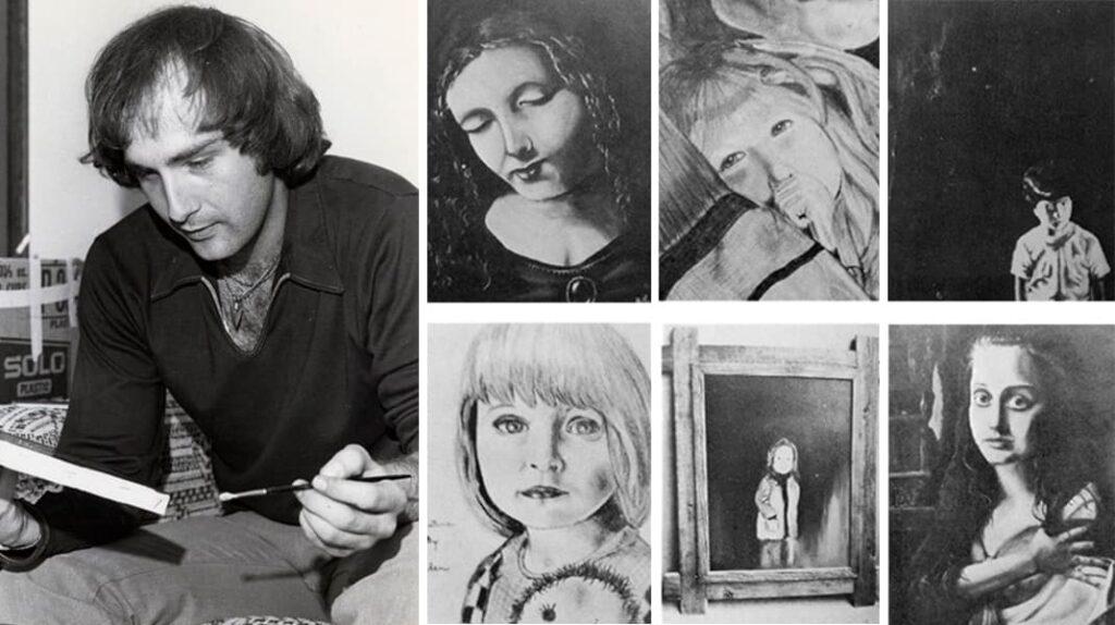 Картины Билли Миллигана, Билли Миллиган, множественная личность, психиатрия, лайфхаб, lifehub