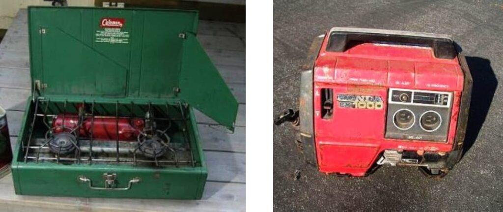 История обмена вещами, электрогенератор Honda, газовая плита для кэмпинга, лайфхаб, lifehub