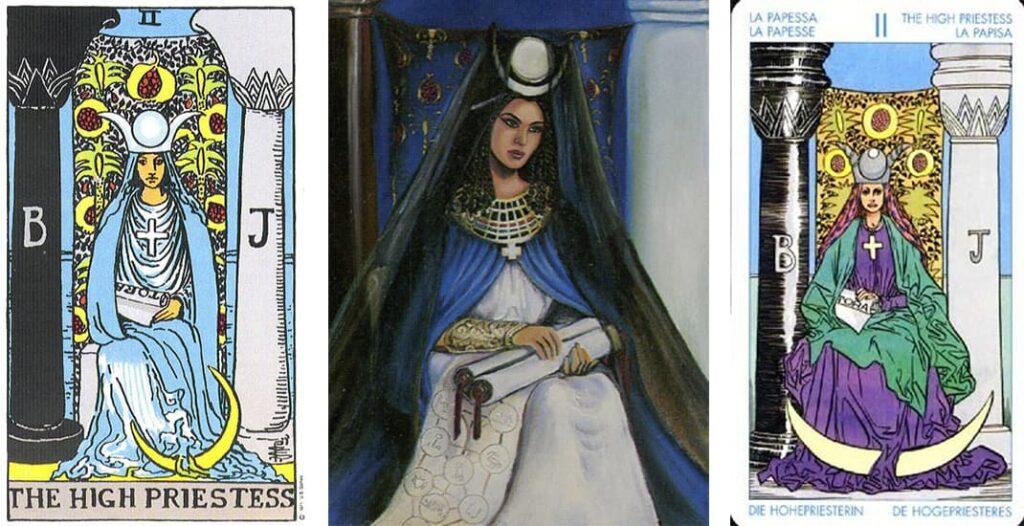 Карты Таро, верховная жрица, Таро, лайфхаб, папесса, Рим, Ватикан, католлическая церковь, история, lifehub