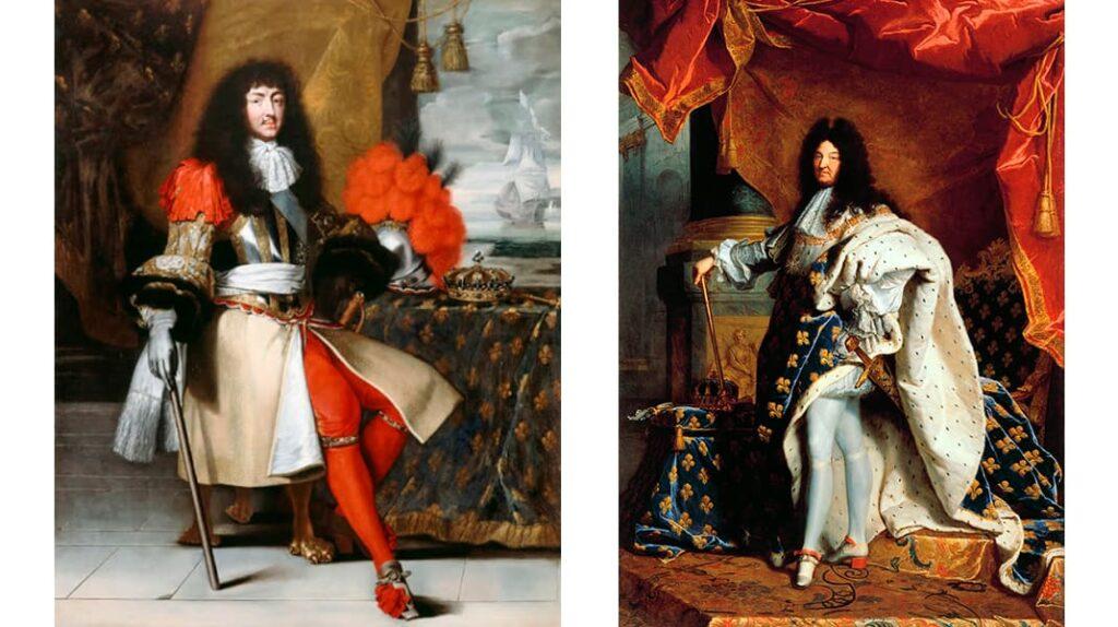 Король Людовик XIV, средневековье, история чулок, чулки, лайфхаб, lifehub, одежда королей