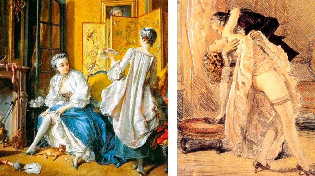 Жанна-Антуанетта Пуассон, маркиза де Помпадур, женские чулки, женская мода, лайфхаб, lifehub