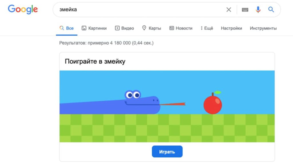 Змейка в гугл, игры гугл, во что поиграть, лайфхаб, lifehub, гугл игры