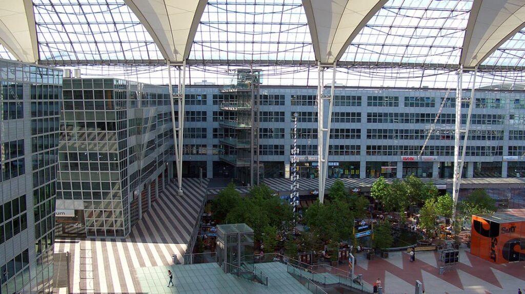 Крупные аэропорты мира, Munich, аэропорт Мюнхен, лайфхаб
