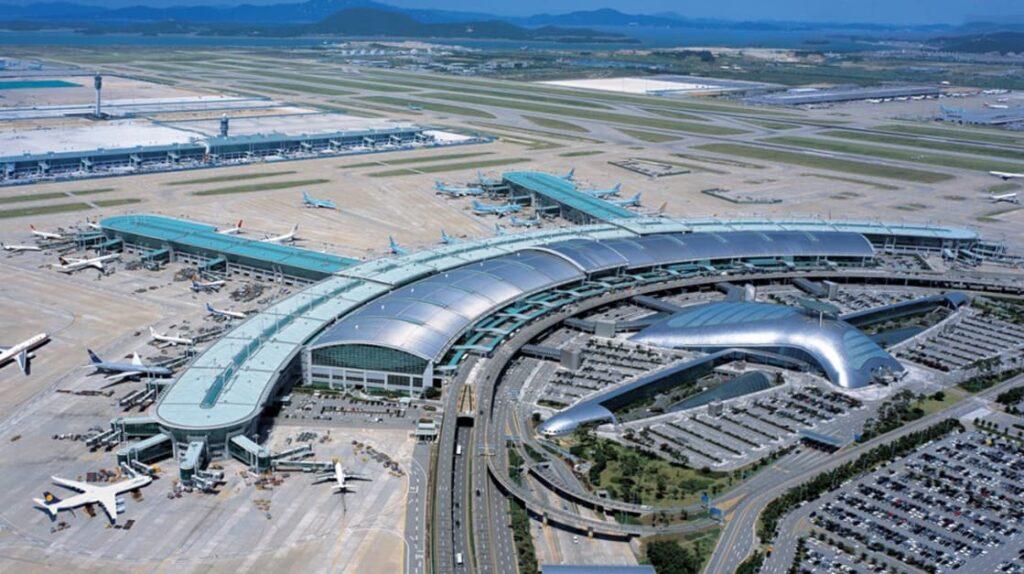Самые большие аэропорты в мире, Seoul Incheon, аэропорт Сеул