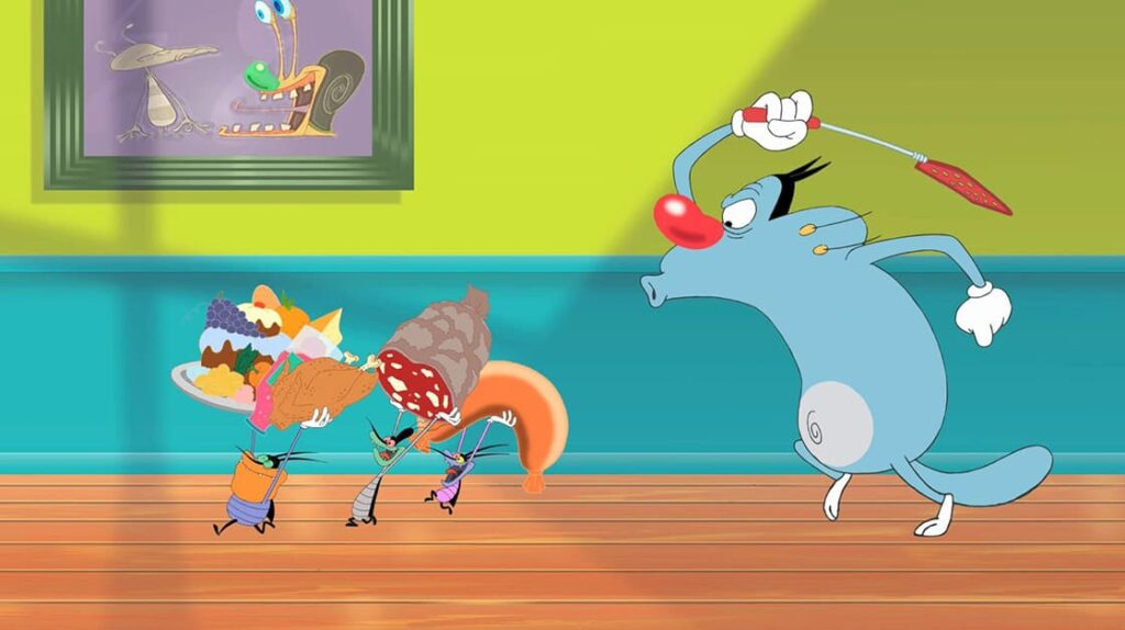 Oggy et les Cafards, Огги и кукарачи, мультфильм, лайфхаб, что посмотреть, lifehub, подборка мультиков