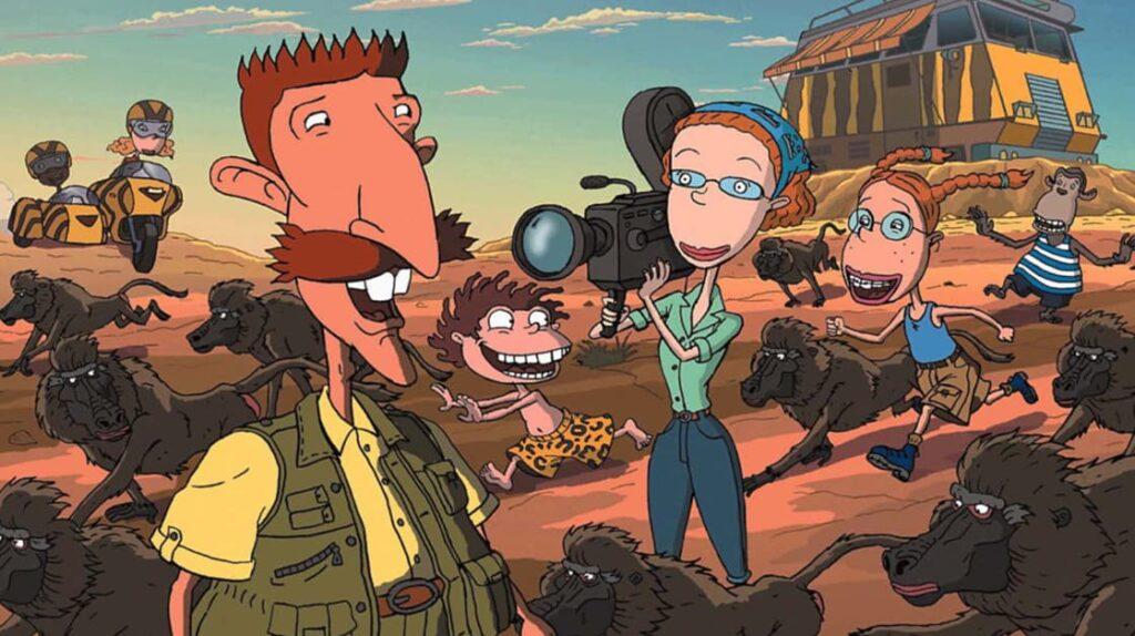 The Wild Thornberrys, Дикая семейка Торнберри, мультфильм, лайфхаб, что посмотреть, lifehub, подборка мультиков