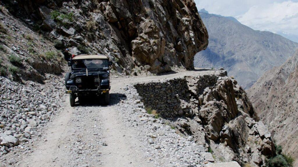 Дорога Гилгит-Балтистан, Пакистан, опасные дороги, лайфхаб, путешествия, экстремальные дороги, lifehub, road, travel