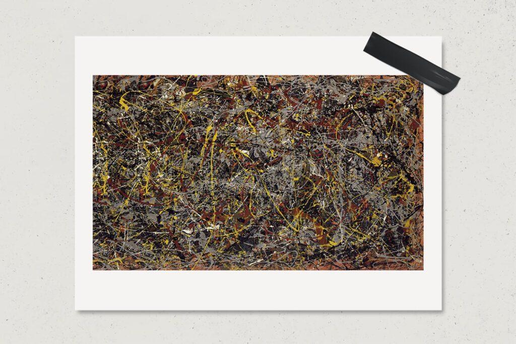 Картина № 5, 1948, Джексон Поллок, художник, самые дорогие картины мира, живопись, абстракционизм, лайфхаб, арт, lifehub, art, $140 млн.