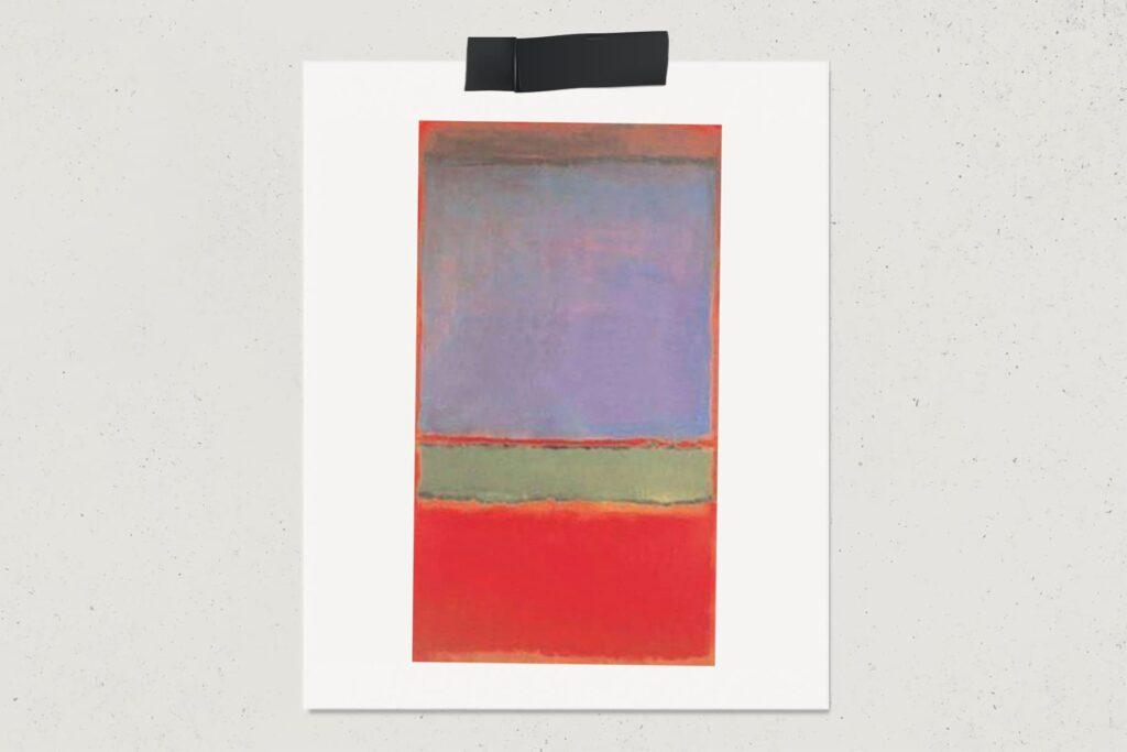 Картина №6 (Фиолетовое, зеленое и красное), Марк Ротко, художник, абстракционизм, картина, лайфхаб, lifehub, art, арт, 1951, $186 млн.