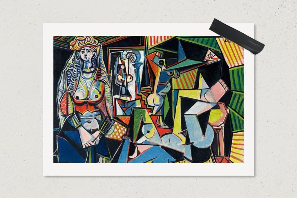 Картина Алжирские женщины, Пабло Пикассо, художник, живопись, арт, $179,4 млн., лайфхаб, lifehub, art, 1955