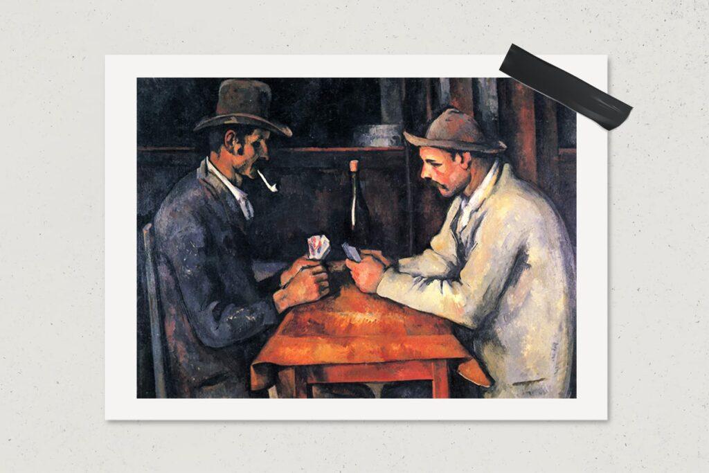Картина Игроки в карты, Поль Сезанн, живопись, $250 млн., арт, 1892-1893, лайфхаб, lifehub, art