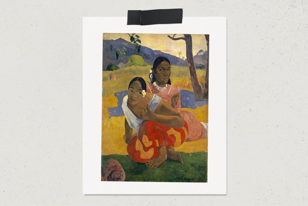 Картина Когда свадьба?, Поль Гоген, художник, Таити, живопись, потрет, лайхаб, самые дорогие картины мира, арт, lifehub, art, 1892, $300 млн.