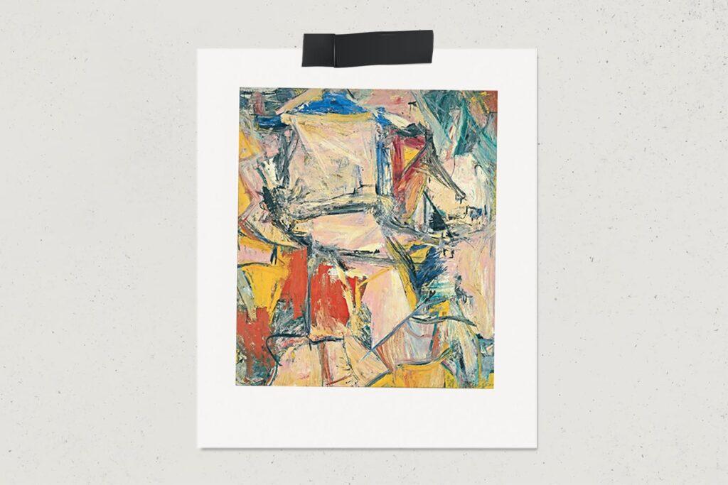 Картина Обмен, Виллем де Кунинг, абстракционизм, лайфхаб, художник, живопись, lifehub, art, арт, $300 млн., 1955, самые дорогие картины мира