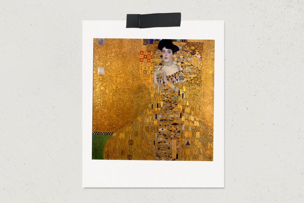 Картина Портрет Адели Блох-Бауэр I, Густав Климт, художник, живопись, портрет, арт, лайфхаб, lifehub, art, $135 млн., 1907
