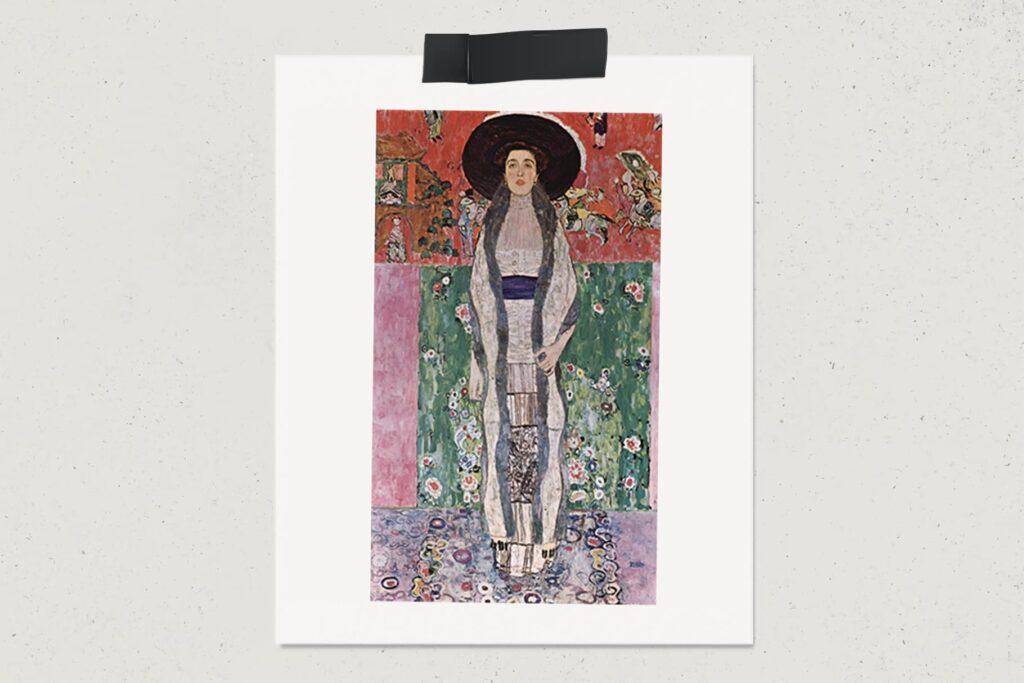 Картина Портрет Адели Блох-Бауэр I, Густав Климт, лайфхаб, художник, арт, портрет, lifehub, art, $135 млн., 1907