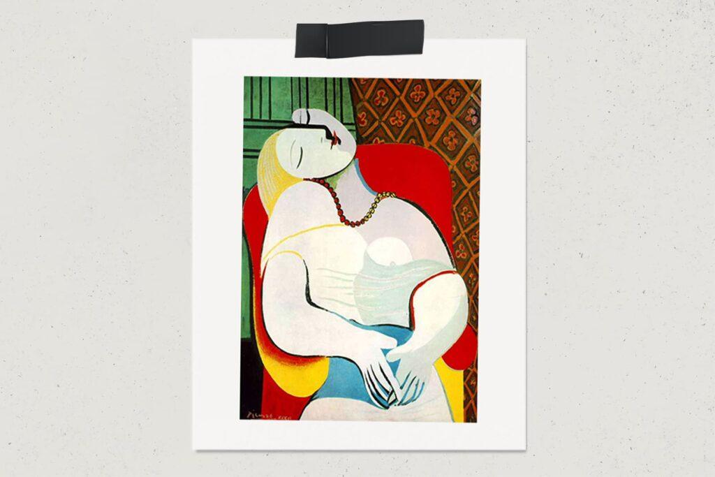 Картина Сон, Пабло Пикассо, художник, лайфхаб, арт, lifehub, art, 1932, $155 млн.