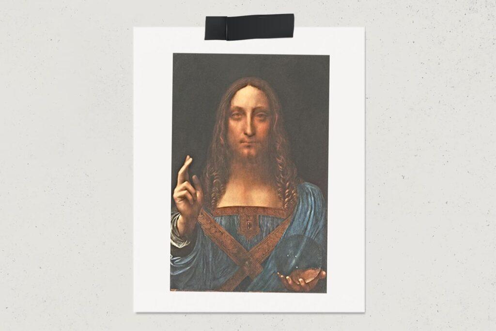 Картина Спаситель мира, Леонардо да Винчи, самая дорогая картина в мире, лайфхаб, художник, арт, портрет, живопись, lifehub, art, 1499, $450,3 млн.
