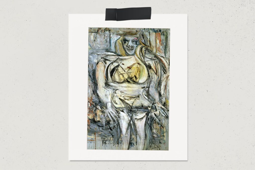 Картина Женщина III, Виллем де Кунинг, художник, лайфхаб, арт, lifehub, art, самые дорогие картины мира, 1953, $137,5 млн.