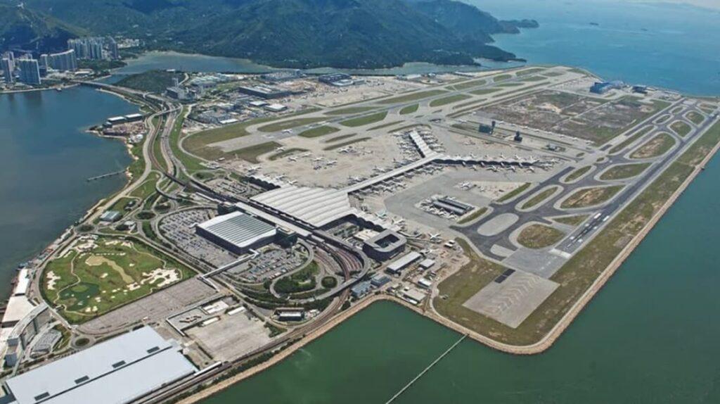 Самые большие аэропорты мира Hong Kong International Airport, Гонконг аэропорт, путешествия