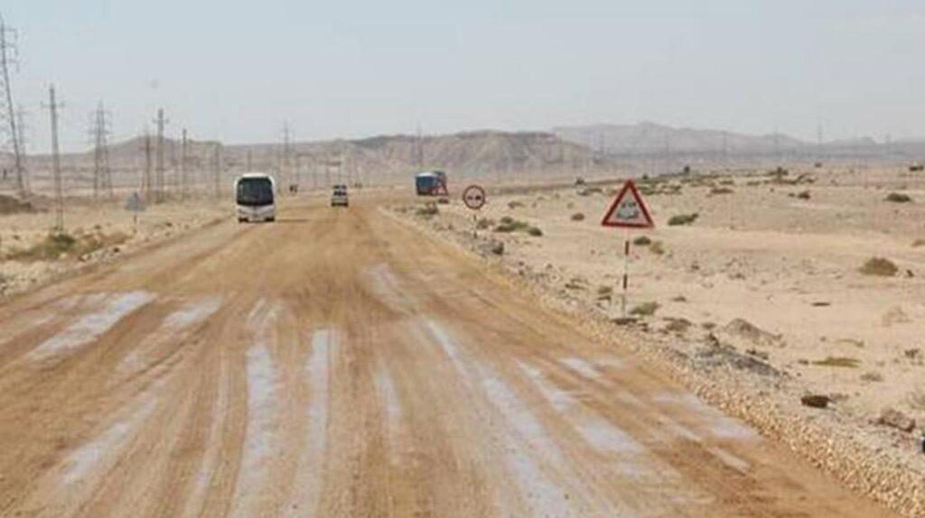 Трасса Луксор-аль-Хургада, Египет, опасные дороги, экстремальные дороги, путешествия, лайфхаб, lifehub, road, travel