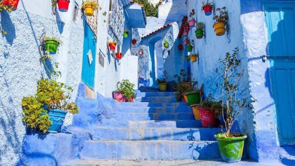 Синий город, Шефшауэн, Марокко, Африка, город в синем цвете, куда поехать, лайфхаб, путешествия, lifehub, travel, Afrika