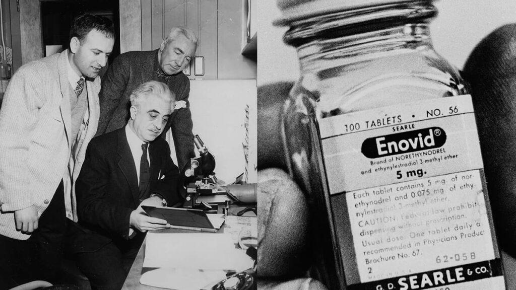 Грегори Пинкус, Джон Рок, первые в мире противозачаточные таблетки Enovid, оральная контрацепция, лайфхаб, ОК, lifehub, the pills, Маргарет Сэнгер