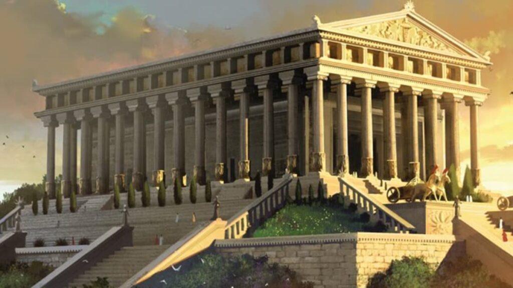 Храм Артемиды Эфесской, семь чудес света Древнего мира, богиня Артемида, храм Дианы, Греция, Херсефон, лайфхаб, чудо света, lifehub