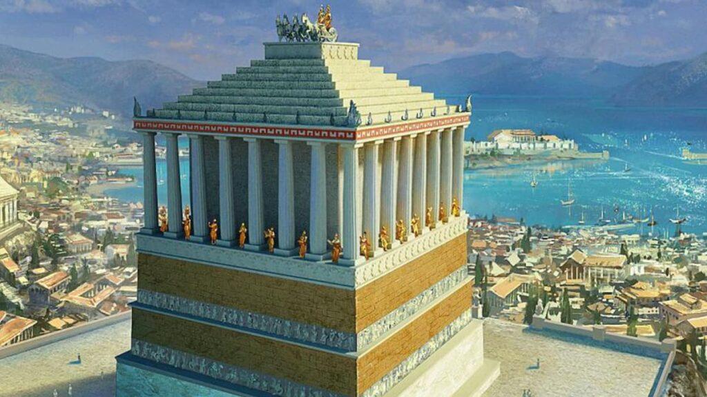 Мавзолей в Галикарнасе, семь чудес света Древнего мира, лайфхаб, lifehub, чудо света, мавзолей, сатрап Мавсол, Артемиссия II, гробница