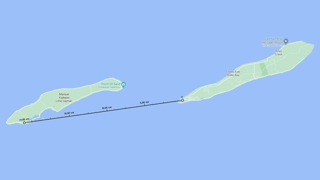Каймановы острова, Кайман Брак, Малый Кайман, самый короткий перелет, авиарейс, путешествия, лайфхаб, lifehub