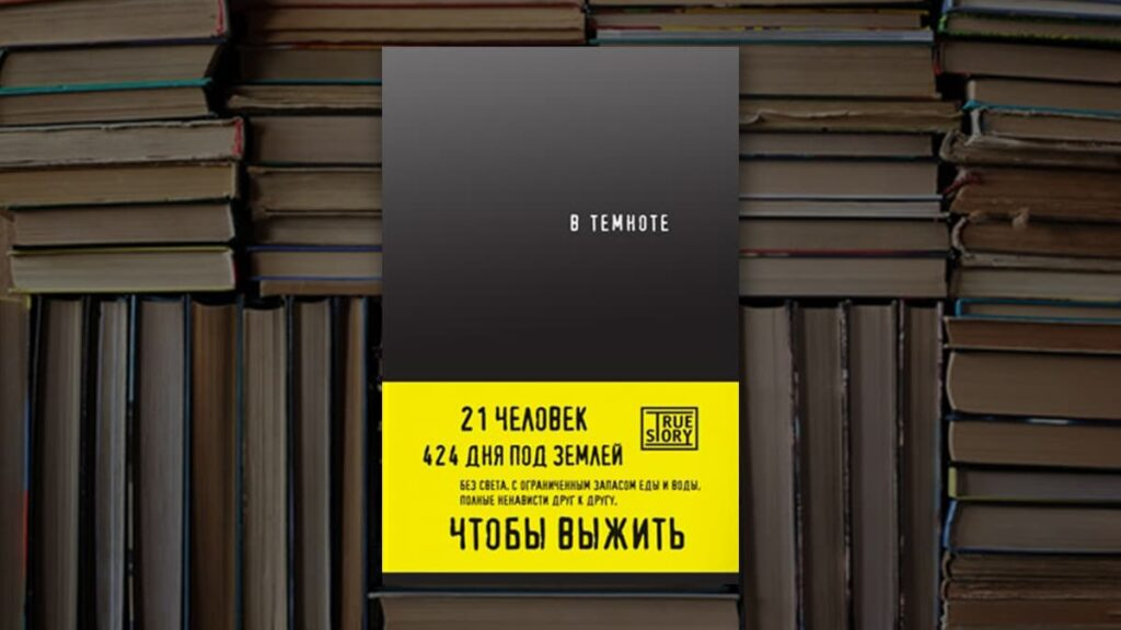 Книга В темноте, Кристина Хигер, Даниэль Пайснер, что почитать, интересные книги, лайфхаб, lifehub, книги о выживании