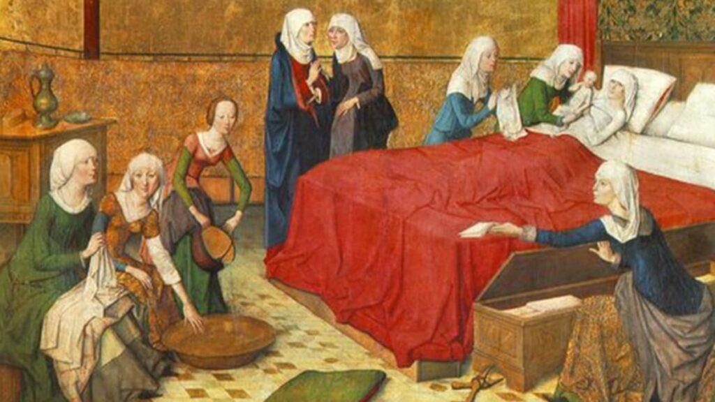 Повитуха, древняя женская профессия, кем работали женщины в древности, роды в древности, кто принимал роды в древности, лайфхаб, lifehub