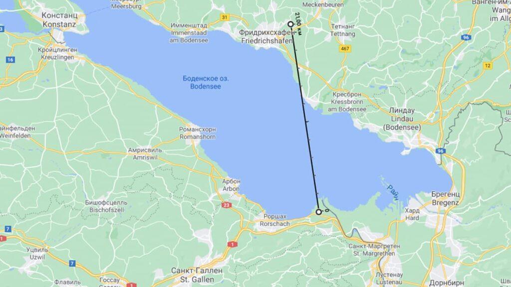 Самый короткий полет на самолете, лайфхаб, lifehub, Фридрихсхафен, Германия, Санкт-Галлен-Альтенрайн, Швейцария, путешествия, Европа