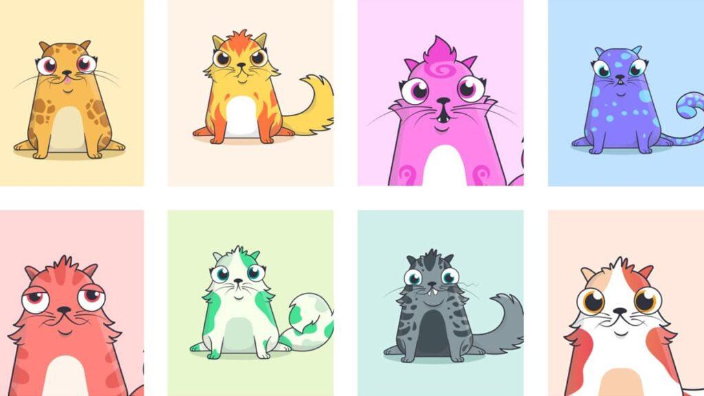 CryptoKitties, криптокотики, что такое NFT, технология NFT, криптовалюта, Ethereum, лайфхаб, lifehub, виртуальный кот, игра виртуальные коты