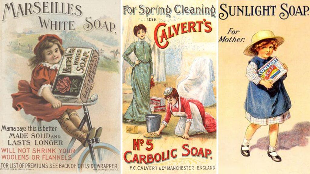 Vintage soap, sapon, мыло, винтажное мыло, старое мыло, лайфхаб, lifehub, как произошло мыло