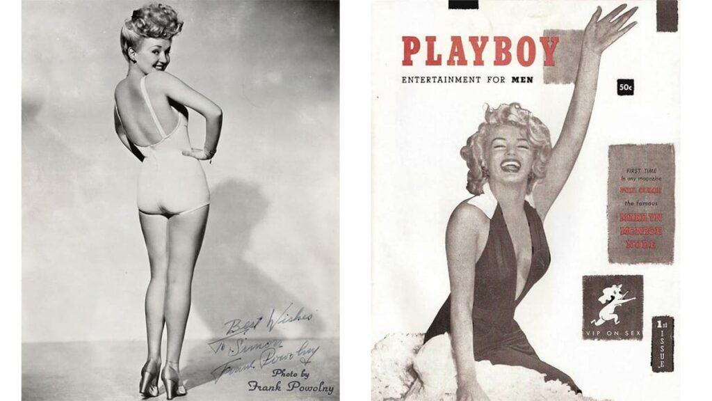 Бетти Грейбл, журналы для взрослых, пинап, Pin-up Girl, Playboy первый выпуск 1953 год, лайфхаб, lifehub, Мэрилин Монро