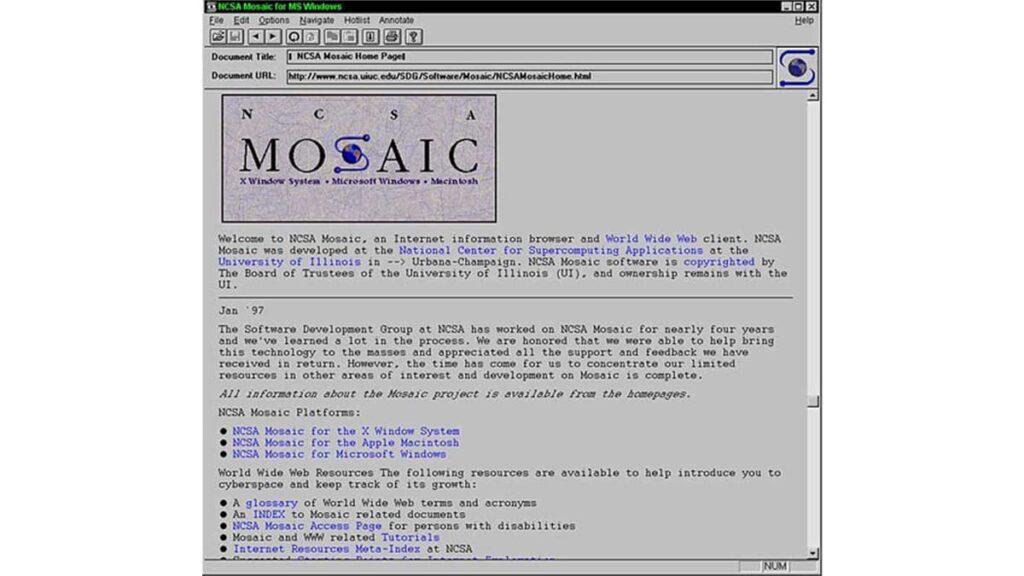 Графический браузер Mosaic, лайфхаб, интернет история, откуда взялся интернет, самый первый компьютер в мире, lifehub