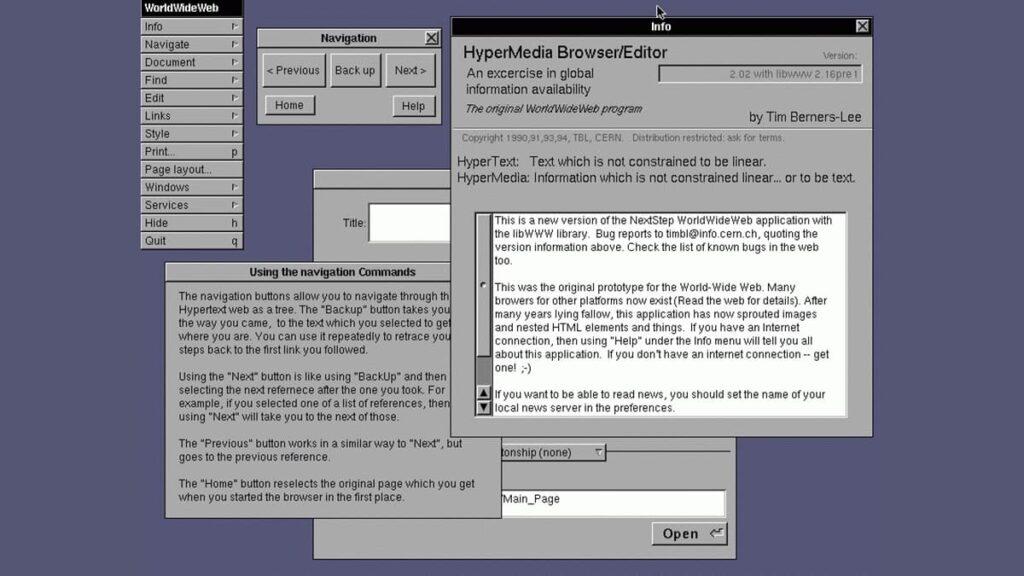 WorldWideWeb, первый в мире веб браузер, лайфхаб, история интернета, lifehub, как возник интернет, первый в мире компьютер